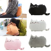 Wholesale Low Price Cat Toys - 40 *30cm Plush Toy Pusheen Cat Skin ,Low Price Anime Toy Pusheen Cat For Girl Kawaii ,Cute Cushion Brinquedos