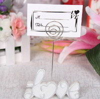 Wholesale Pearls Place - Wholesale Wedding Favors Party Gifts Valentine's Gifts Pearl White LOVE Place Card Holders New Design