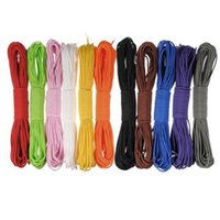 Wholesale Rock Lanyards - 50ft pc 15m 550 paracord Parachute Cord Lanyard Rope Mil Spec Type III 7 Strand core 50 colors for option