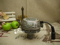 Wholesale Hookah Heater - Electric hookah heater and tobacco holder as one set suit for chicha shisha narguile lighter smoking galss hookah