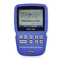 Wholesale Nissan Key Calculator - 2015 best price VPC-100 Hand-Held Vehicle PinCode Calculator with 300+200 Tokens VPC100 Calculator Reader VPC 100 Auto Key Programmer