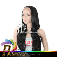 Wholesale Blonde Black Mix Cosplay Wigs - Free shipping 7A Full Lace Human Hair Wigs afro Kinky Curly Glueless Full Lace Wigs Virgin Human Hair weave Lace Front Wig