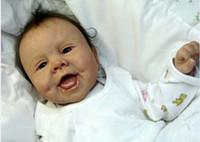 Wholesale Dolls Reborn Baby Kit - Wholesale-Unpainted Reborn Baby Doll Kits Suit For 22 Inch Babies Tatum Noel by Sandy Faber