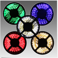 5 metros SMD3528 12V LED Strip Light Sala de estar Decorativa Flexible Tape Rope Lights Iluminação interior