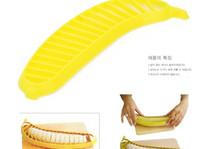 Wholesale Plastic Bananas - Kitchen Fruit Divider Melon Cantaloupe banana Plastic Cutter Slicer Tool