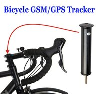 Wholesale Gps Fence - Mini Bicycle GPS Tracker for real time tracking bike movement Shock Geo-fence GSM SMS Alarm 4 Standby Modes Google Maps