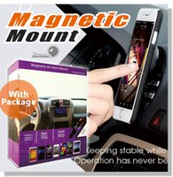 Wholesale Vent Mount Cell Phone Holder - Car Mount, Universal Air Vent Magnetic Car Holder, for Cell Phones and Mini Tablets,Magnetic Cell Phone Mount,Phone Holder