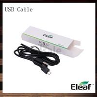 eleaf mini batterie großhandel-Eleaf iStick USB Kabel Ladegerät für iSmoka eleaf iStick 20w 30w 50w Mini 10w Batterie Box Mods 100% Original