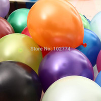 Wholesale pink brown balloons resale online - 3 g inch pearl balloons thickening balloon wedding room decoration preferred balloons