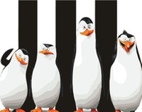 Wholesale Painted Penguin - Penguin 5D DIY Mosaic Needlework Diamond Painting Embroidery Cross Stitch Craft Kit Wall Home Hanging Decor