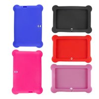 Wholesale Cute Galaxy Tablet Cases - More Colors 7 Inch Tablet Cute Silicone Gel Protective Case HB88