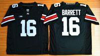 Wholesale American Football College Jerseys - New Arrival American Football college stitched mens sports Jerseys 2016 Final J. T. Barrett #16 Ohio State Buckeyes embroidery size S-XXXL