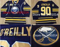 Wholesale X Xxl - , 2015 New men's Buffalo Sabres #90 ryan o'reilly terry o'reilly Blue Away stitched Hockey Jersey size M L XL X