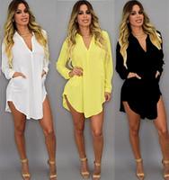 plus größe abendkleider 5xl großhandel-Kleider für Frauenkleidung Mode Kleid Tageskleider 2019 Sexy Brautkleider Plus Size Chiffon Hemd Party Abendkleid 96