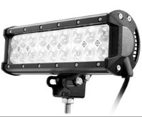 9 '' 54W CREE LED Arbeitslicht-Stab-Flut-Punkt-Lichtstrahl 4X4 4WD SUV Offroad LED-Stab-Lampe 12V 24V Auto-Jeep-LKW-Boot LED-Arbeitslicht
