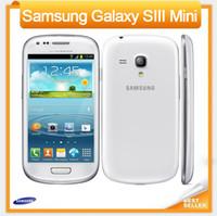 "Wholesale Mini S3 3g - I8190 Original Samsung Galaxy S3 mini Phone Dual-core 4.0""Touch 5MP Camera 8GB ROM 3G WIFI GPS Unlocked Refurbished Mobile phone"