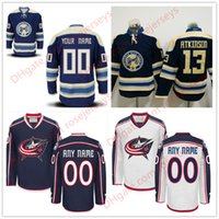 Stitched Custom Columbus Blue Jackets juventude para mulheres homens OLD BRAND Royal White Customized navy Third Personalized Hockey barato Jerseys S-4XL