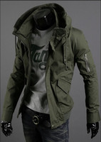 Wholesale German Army Military - Fall-Han edition authentic men jacket coats autumn winter coat wind German army green jacket army military jackets Free Shipping