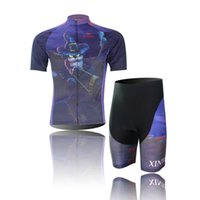 Wholesale Cycling Bib Short Pants Padded - 2014 newest bicycle sports clothing cycling jersey and bib shorts pants bike GEL PAD Top quality accept custom free shipping