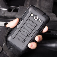 Wholesale S4 Rugged - Future Armor Rugged Defender Holster Belt Clip Protection Hybrid Kickstand Case For Samsung Galaxy s3 S4 S5 mini S6 active Avant Shockproof