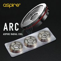 Wholesale Arc Kit - Original Aspire Revvo Tank ARC (Aspire Radial Coil) Replacement Atomizer Coils Head for Skystar Typhon Mods Kits 0.1~0.16ohm Stove Top Fill