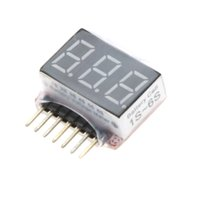 Wholesale 1s Lipo Battery Tester - New 1S-6S LED Voltage Tester Lipo Battery Voltage Indicator Checker for RC Plane Car Boat Toy Model Battery order<$18no track