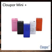 Wholesale Evic Vv - Cloupor Mini Plus TC 50W VV VW TC Mode Box Mod E Cigarette Cloupor Z5 Mate Cloupor Mini + VS Kbox Mini Evic Mini 100% Original