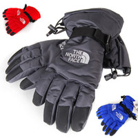 Compra Donna Di Barretta-The North Unisex Finger Gloves Face Winter Guanti invernali antivento Outdoor Riding Skiiing Guanti sportivi da ciclismo per uomo e donna