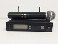 Wholesale High Quality Wireless Karaoke Microphone - High quality Wireless Microphone With Best Audio and Clear Sound Gear Performance Wireless Microphone DHL Free Shipping