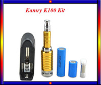 Wholesale Telescopic Vape Mods - Kamry K100 Kit E Cig Mod Kit Ecigarette Vape Kit K100 Telescopic mechanical mod Kit with Rechargeable 2200mah 18650 Battery VS Kamry K101