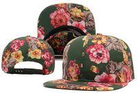 Wholesale Pops Online - Wholesale-high quality 2015 new arrive K pop blank flowers snapback baseball hat women female 5 colors adjustable caps Cheap sale online
