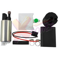 Wholesale High Flow Fuel - Xpower-255LPH High Flow Pressure Performance Electric Fuel Pump + Universal Install Kit GSS341