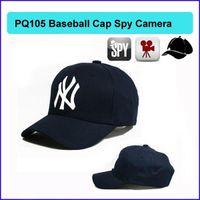 Wholesale Spy Cap Remote - 8GB Cap Hat spy Camera Baseball Cap Hat hidden camera video Camcorder with Remote Control outdoor Mini DVR Video Recorder PQ105