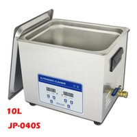 Wholesale Ultrasonic Heater - 110-220V 10L JP-040S 40KHz 200W Digital Timer & Heater Ultrasonic Cleaner Stainless Steel Washing Machine JP 040s Cleaning Machine