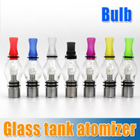 Wholesale Ego Twist Glass Tank - Hot sale!8 Colors Wax Glass Globe Tank Dry Herb Vaporizer Clearomizer 4.0ml atomizer for eGo t ,ego c twist, vision spinner 2 e-cig battery