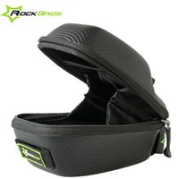 Gros-Rockbros Road Bike Saddle Bag VTT Tige de selle Sac Sac étanche Selle Noir New