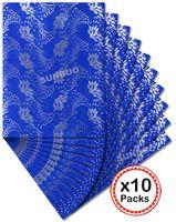 Wholesale Designed Gele - 2015 New design African SEGO headtie African gele Scarf Wraps Head Tie 2551 Royal blue 10 packs per Lot