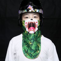 Compra I Motocicli All'ingrosso Dei Capretti-All'ingrosso- Kids Winter Warm Mask Mask Cold Protection Chidren Ski Mask Snowboard antivento moto sciarpa da bici
