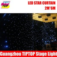 Wholesale Led Curtain Lights Cheap - Wholesale-Cheap Price 2M*6M&6M*2M High Quality RGBW RGB Color Curtain LED Star Cloth With Controller 90V-240V Light Curtain