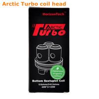 tanque turbo original al por mayor-100% original Horizon Arctic Turbo Reemplazo Bobina sub ohm Sextuplet Bobina 0.2ohm 0.3ohm 0.6ohm occ bobina Arctic turbo Tank fit 40-100w