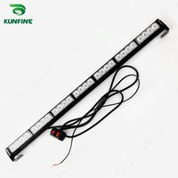Wholesale traffic strobe lights - Water-proof Car LED strobe light bar car warning light car flashlight led light bar high quality 7*4 Traffic Advisors light bar
