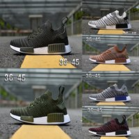 Wholesale M Ducks - 2018 NMD R1 STLT Primeknit Porter Duck Camo Army Zebra Triple Black Mens Women Running Shoes Sport Nmds Runner Primeknit Designer Trainers