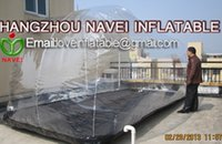 Wholesale 4 m New car cover Inflatable car capsule car cover inside outdoor car cover