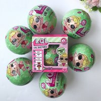 Wholesale Toy Egg Cm - 2017 LOL SURPRISE DOLL Series 2 Dress Up Toys baby Tear change egg can spray Realistic Baby Dolls lil sisters 45+ to Collect 10 cm for Xmas