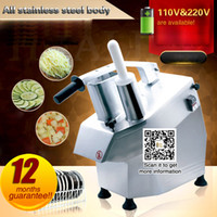 Wholesale Restaurant Machines - Electrical Vegetable Cutter Vegetable Slicer For Restaurant Food Process Vegetable Cutting Machine