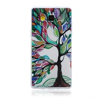 Wholesale Cartoon Casing Galaxy Grand - Elephant Flower Cartoon Ultra-thin 3D Tiger Soft TPU Case For SAMSUNG GALAXY E7 A5 Core 2 G355H Grand Prime G530 G360 Tribal Tree skin 50pcs