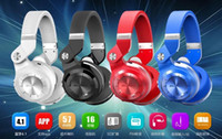 Wholesale Chinese New Fashion - New 100% Original Fashion Bluedio T2 Turbo Wireless Bluetooth 4.1 Stereo Headphones Noise Headset with Mic High Bass Quality