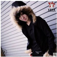 Wholesale Izaya Cosplay Coat - Wholesale-Japanese Anime DuRaRaRa Orihara Izaya Cosplay Costume Black Coat Casual Hoodie jacket Daily Clothes Halloween Cosplay