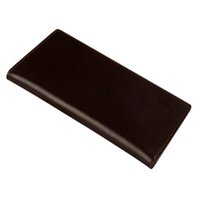 Wholesale S5Q New Brand Business Vintage Men Casual PU Leather Long Business Purse Card Holder Wallet Handbag AAAFAM