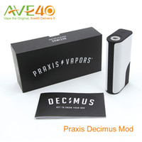 Praxis Vapors Decimus VV / VW 150W Box MOD by Praxis Vapors Chip Proprietário VS IPV v5
